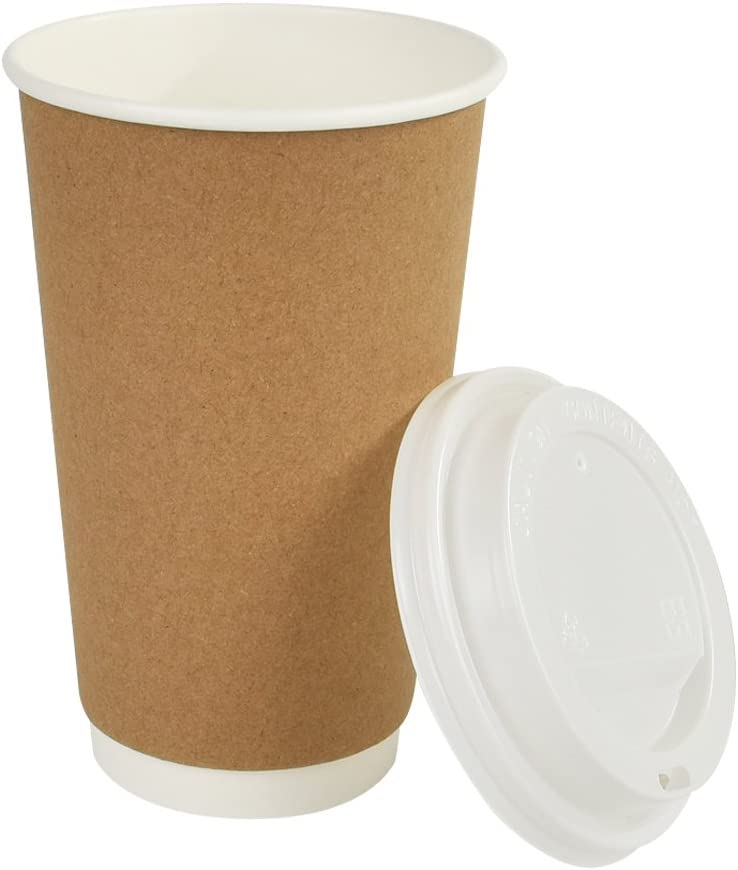 Earth's Natural Alternative Coffee Cup Hot, 50 count with lid