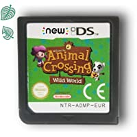 Animal Crossing Game Card Wild World Compatible with Nintendo DS/DSi/3DS XL