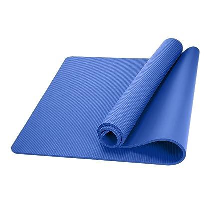 Amazon.com : FANFF Yoga mats Yoga Mat 10 Mm TPE Anti-Skid ...