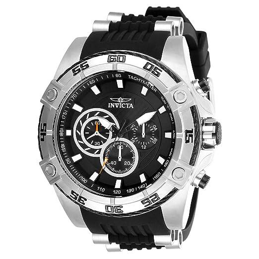 Amazon.com: Invicta Reloj de cuarzo de acero inoxidable y ...