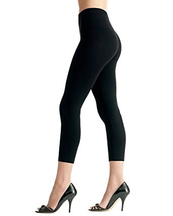 4878f50af06b8 Scala Women's Biopromise Anti Cellulite Legging Black at Amazon Women's  Clothing store: