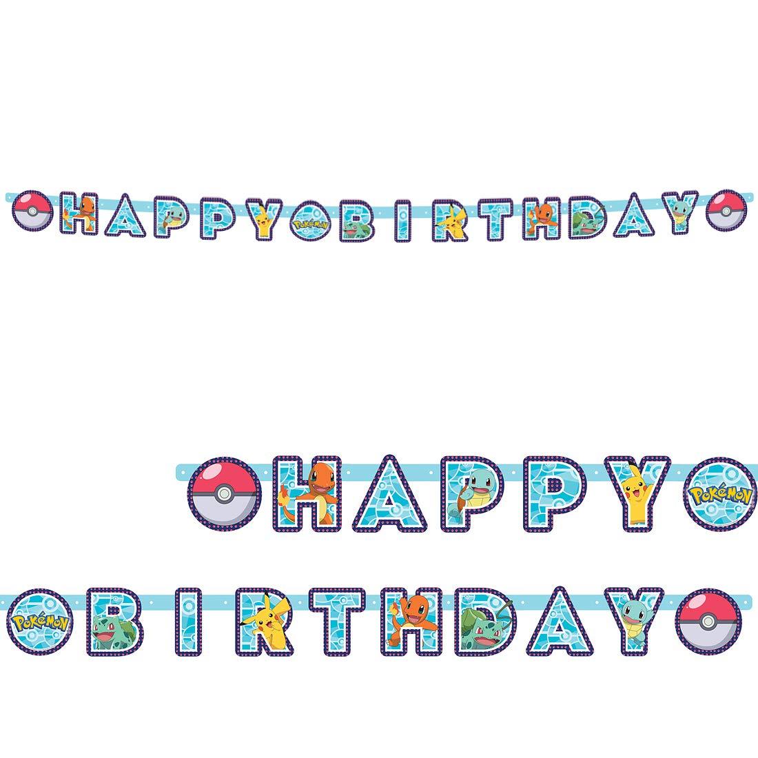 Amakando Cadena de Letras Anime Pokémon cumpleaños ...