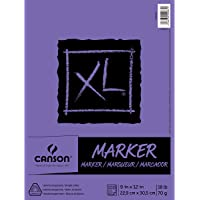 """Canson XL Series Marker Pad, 0, 9""""X12"""""""