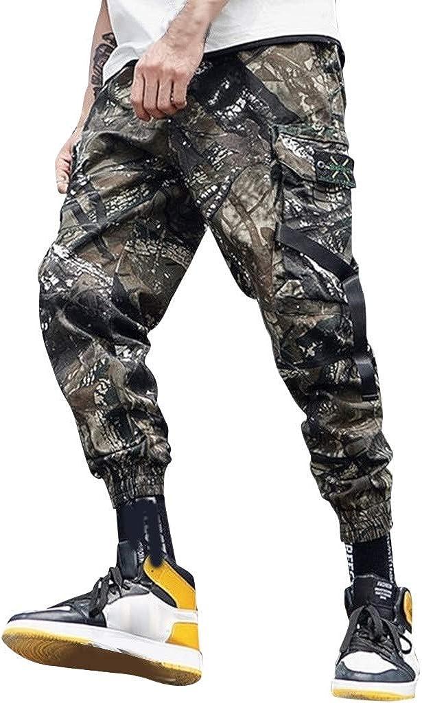 Winter Women Casual Elastic Waist Hip Hop Punk Goth Harem Pants Bootcut Trousers