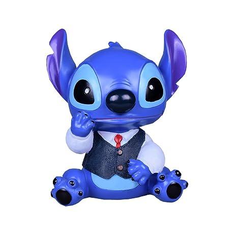 YOURNELO Cartoon Novel Cute Disney Lilo Stitch Toy Bank Coins Money Box Coin Piggy