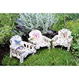 Miniature Fairy Garden Butterfly Chair