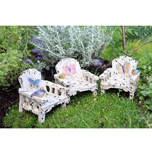 Miniature Fairy Garden Butterfly Chair