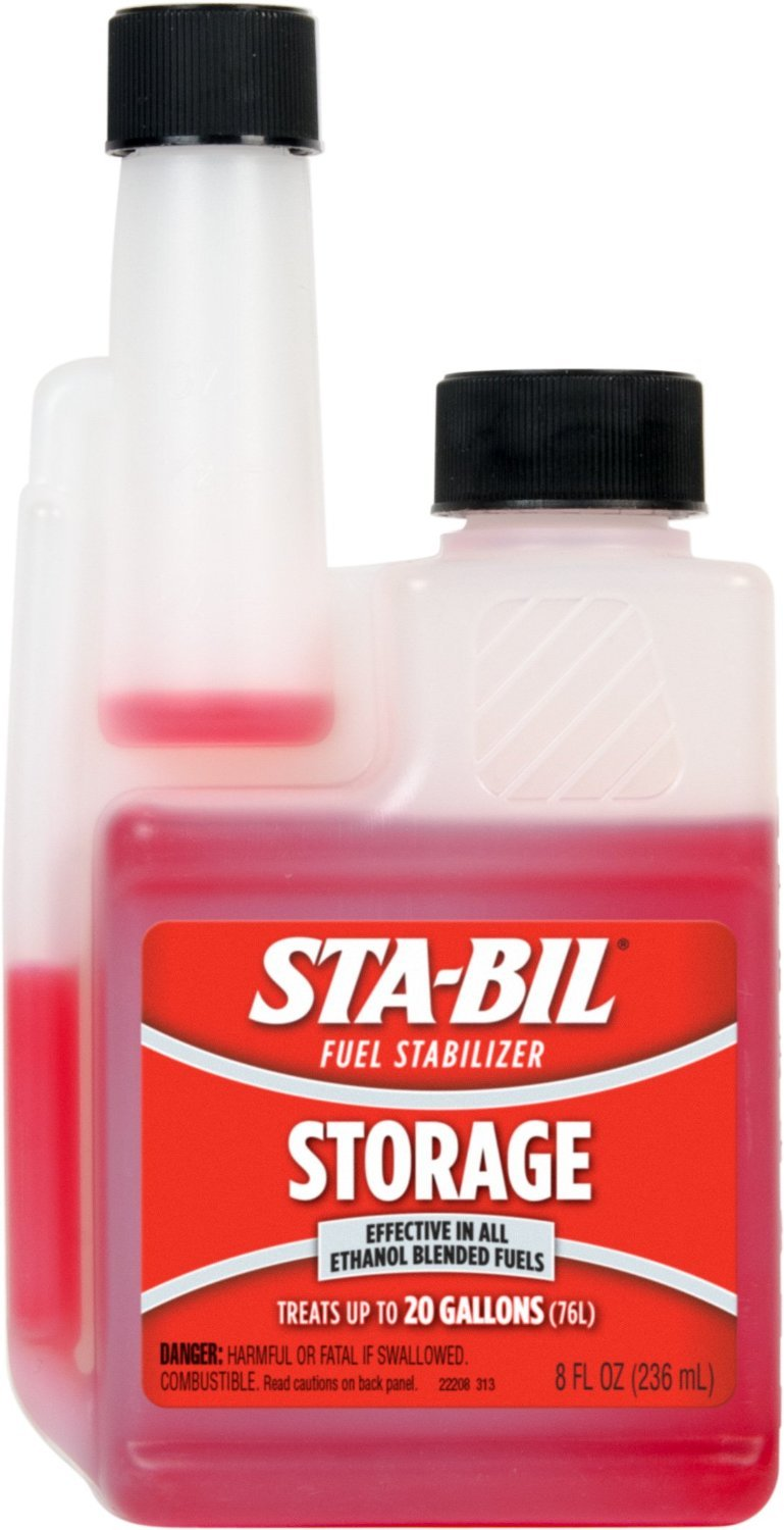 Sta-Bil Fuel Stabilizer 8 Oz. Protects Engine From Gum , Varnish , Rust , Corrosion by Gold Eagle (Image #1)