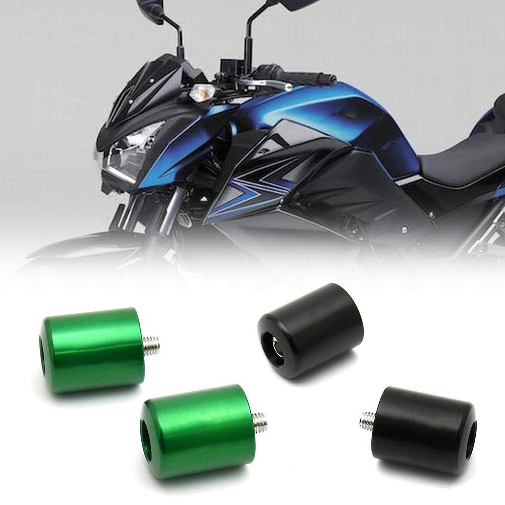 bouncevi Pu/ños de Motocicleta Barra de manija de Moto Empu/ñadura de Manillar de Motocicleta para Kawasaki Z250 Z300 Z650 Z750 Z800 Z900 Z1000 Landmark