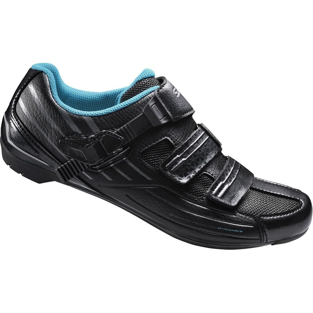 SHIMANO Women's RP300W Comfortable Cycling Shoe (Black- 38)