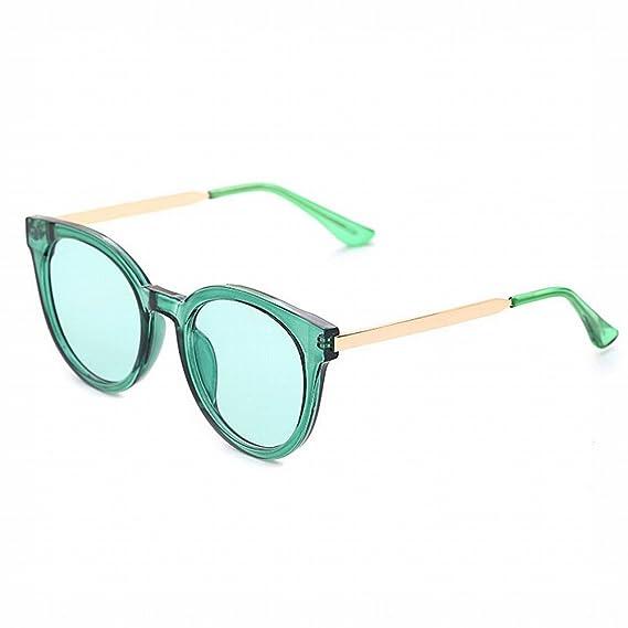 Occhiali da Sole Donna Onda Circolare Colore Trasparente Pellicola Pianura Occhiali da Sole Maschili Colore Oceano Film Occhiali da Sole,C,Tutto il codice