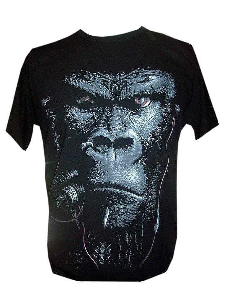 Bad Monkey Cigaro Gorilla T Shirt King Kong