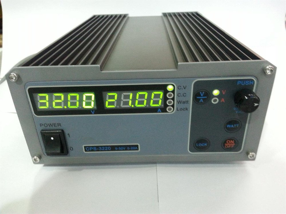 CPS-3220 Precision Compact Digital Adjustable DC Power Supply OVP/OCP/OTP Low Power 0.01V/0.01A 90-264VAC