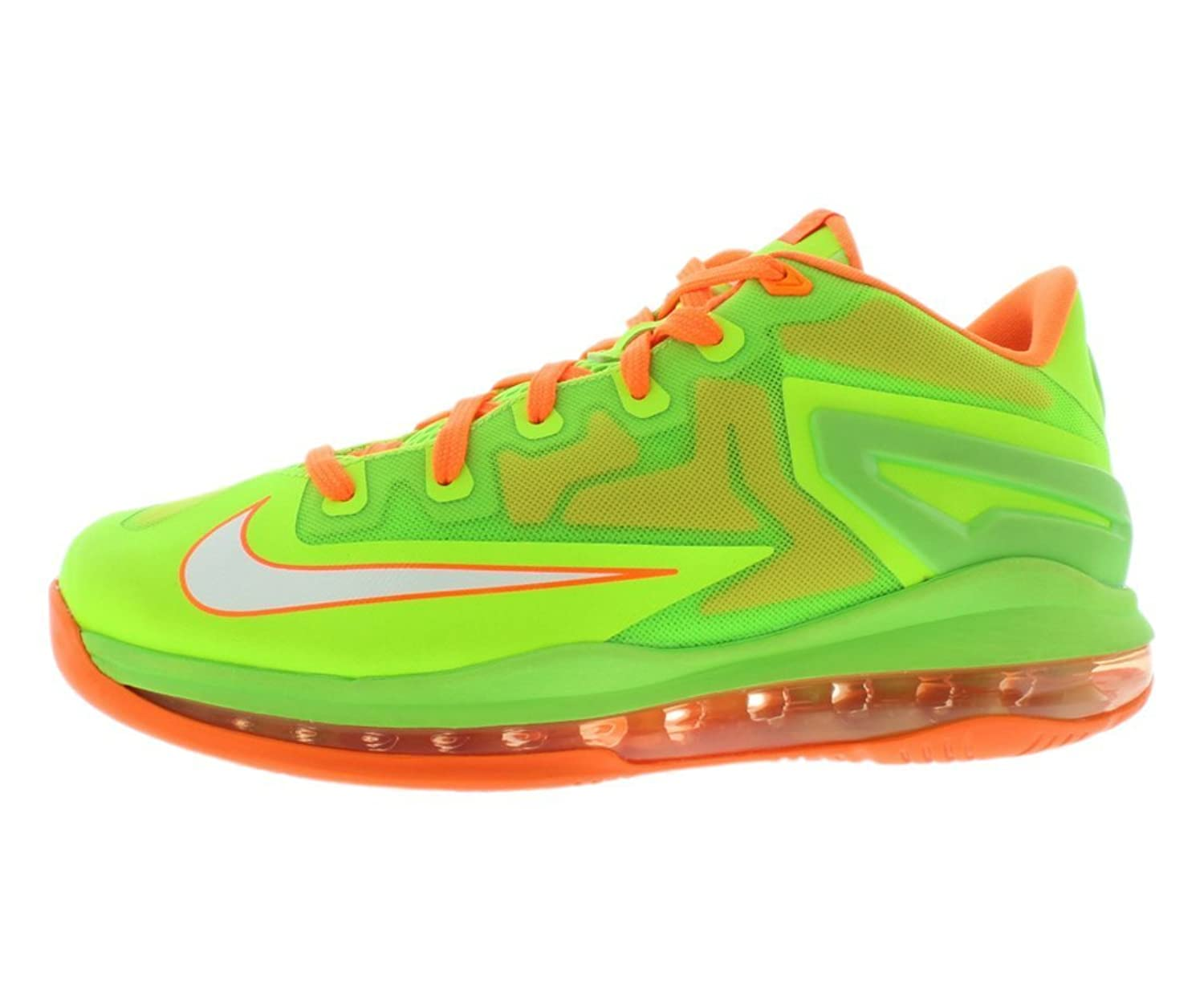 lebron kids shoes. amazon.com | nike air max lebron xi low (gs) boys basketball shoes 644534-300 electric green 5.5 m us kids