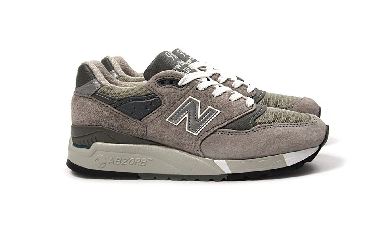 sale retailer b57bd 2db94 Amazon.com | New Balance Women 998 W998G - Made in USA (Gray ...