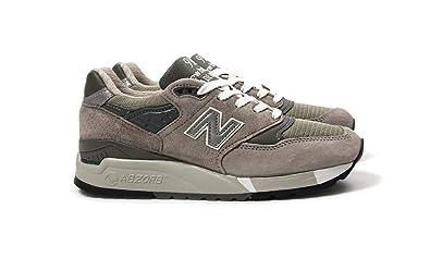 sale retailer 8a75e c1a8e Amazon.com | New Balance Women 998 W998G - Made in USA (Gray ...