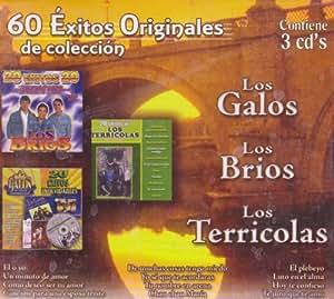 Los Brios, Los Terricolas. Los Galos - 60 Exitos