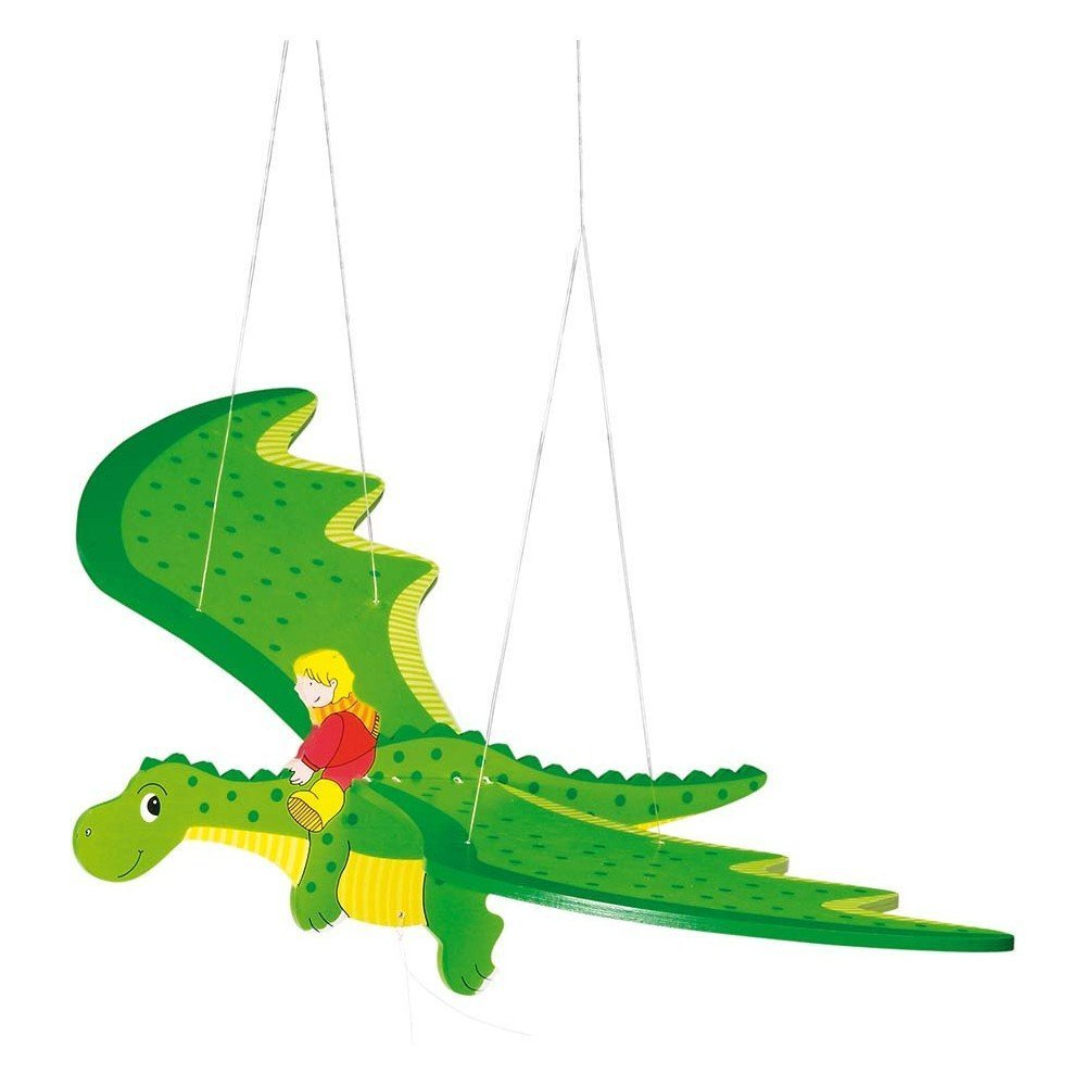 Goki Swing Animal Dragon Baby Toy 52932