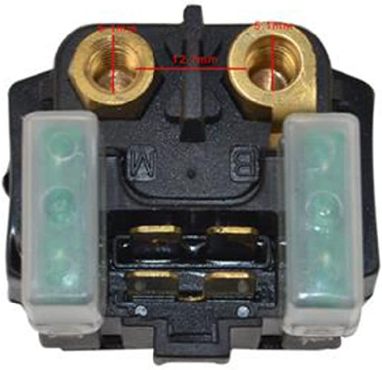 Solenoide Rel/è Di Avviamento Per Yamaha YFZ450 YFZ 450 2004 2008 2009 Moto ATV Quad Accessori