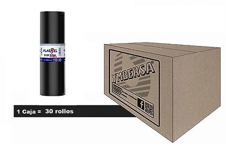 PLASBEL Caja bolsa basura 120 Litros - 85x104 cm. grande ...