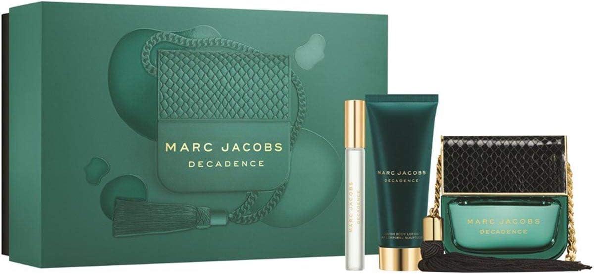 Estuche Marc Jacobs Decadence Edp 100 ml + Loción Corporal 75 ml + Miniatura Spray 10 ml: Amazon.es: Belleza