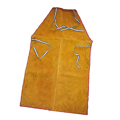 Gazechimp Delantal Larga de Protectora de Soldador Accesorios de Herramientas de Jardinería Eléctricas - naranja
