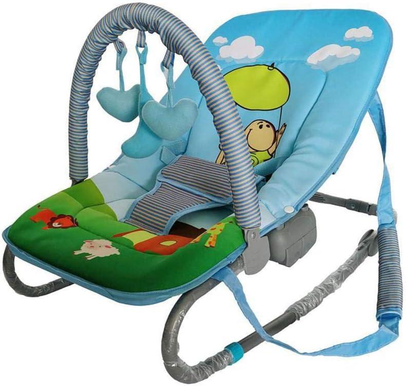 Tcaijing Hamaca de bebe Silla para bebes cuna, bebé de múltiples funciones swing silla bebé plegable cuna niño de cuna mecedora