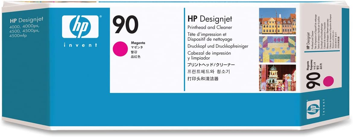 HP C5056A - Cabezal de impresión, 400 ml, Magenta: Hp: Amazon.es: Oficina y papelería