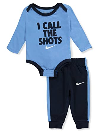 Nike Baby Boy Clothes Simple Amazon NIKE Baby Boys' 60Piece Pant Set Outfit Obsidian 60