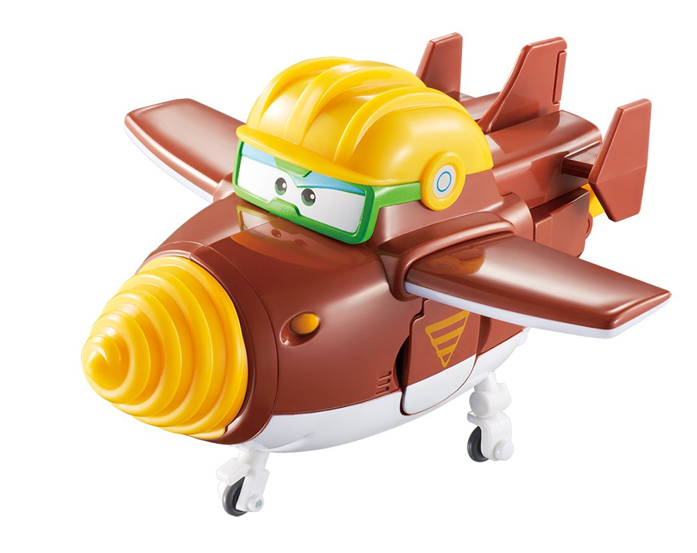 """Super Wings Transforming Todd 5"""" Scale"""