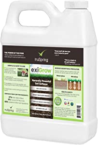Liquid Aeration Soil Loosener and pH Optimizer for Alkaline Soil - Decompact Soil, Solubilize Hardened Nutrients, Boost Fertilizer, Save Water, Grow Healthy Grass - Treats Up to 96,000 sqft