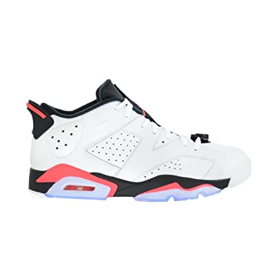 the latest 5a9dd 1b854 Jordan Air 6 Retro Low Men s Basketball Shoes White Infrared 23-Black  304401-