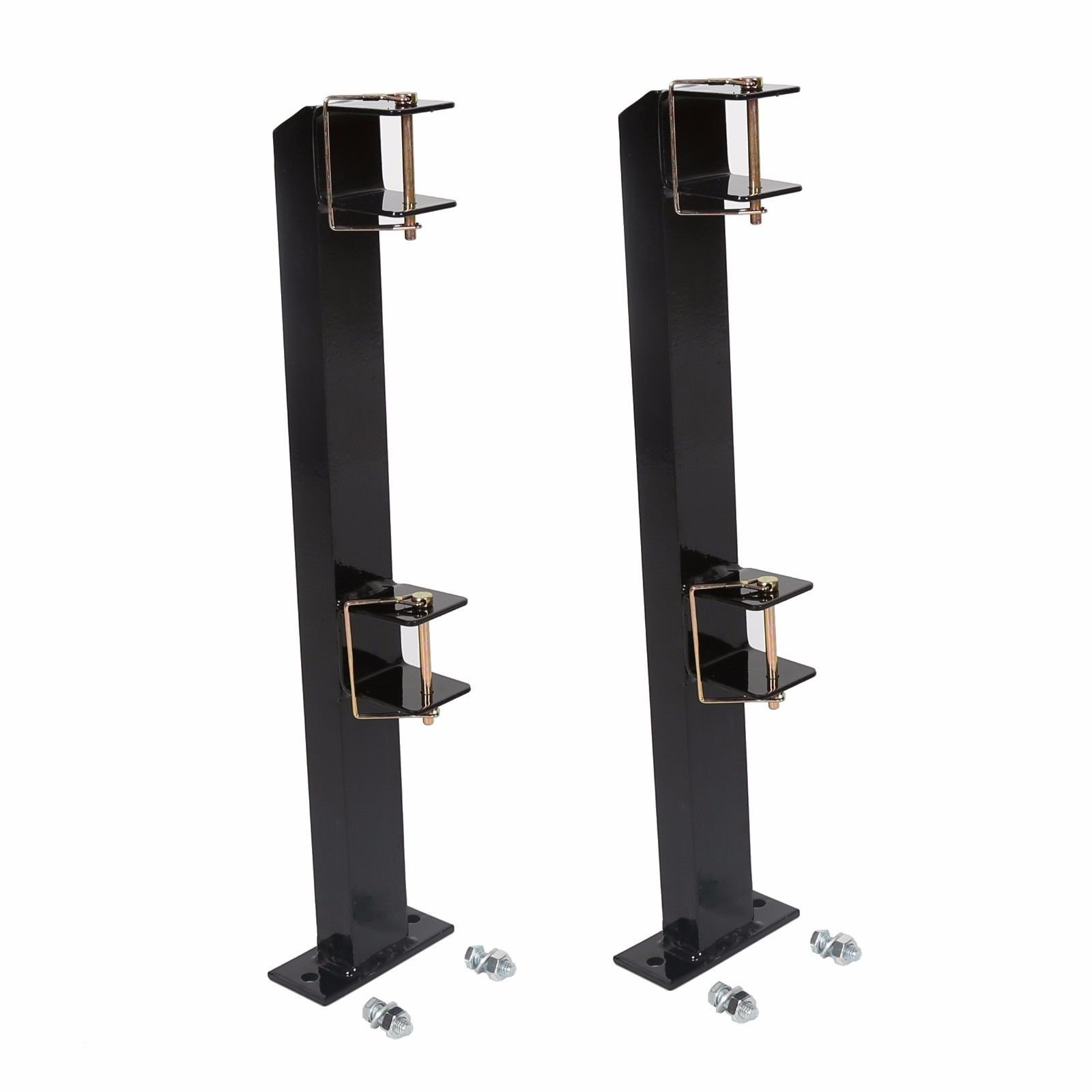 TimmyHouse Weed Eater Edgers Gas Trimmer Rack Holders for Open Landscape Trailer 2 Place