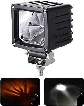 LED Forklift Truck Blue Warning Lamp Safety Work Spot Light Kit 20W 9-60V UK