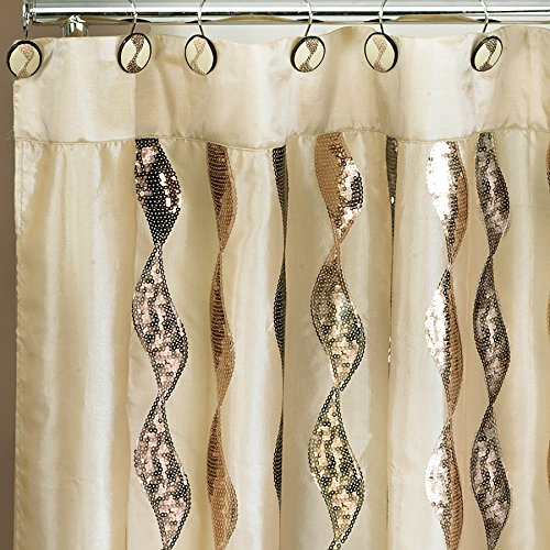Popular Home Shimmer Collection Curtain product image