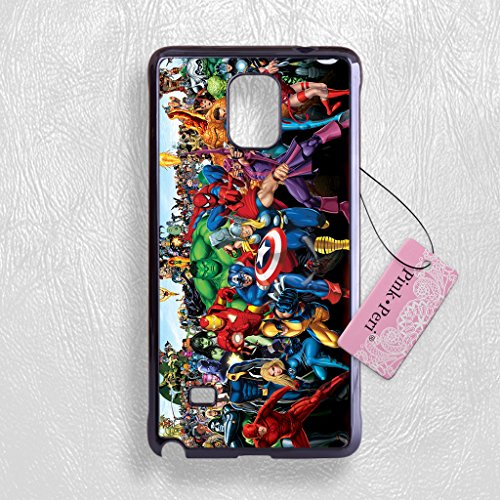 Pink Peri™ Avenger Marvel Comic Protective Hard Phone Case For Samsung Note 4 cases