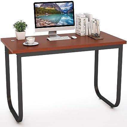 Escritorio para ordenador, tribesigns moderno estilo sencillo escritorio PC Portátil Estudio mesa para oficina en
