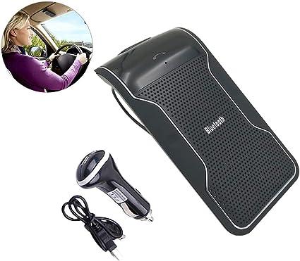 HugeAuto - Visera para coche con Bluetooth, manos libres, con ...