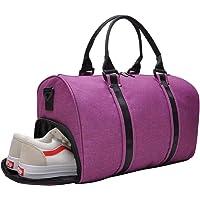 VSWIG Sac de Sport avec Compartiment Chaussures Bagages à Main - pour Les Hommes et Les Femmes