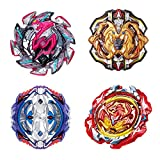 JIENI Burst Beyblade Beginner Beyblade Burst Set Launcher Battle Game Tops Puzzle Toy Creative Gift Toy Educational Toy (B113-B115-B117-B118)