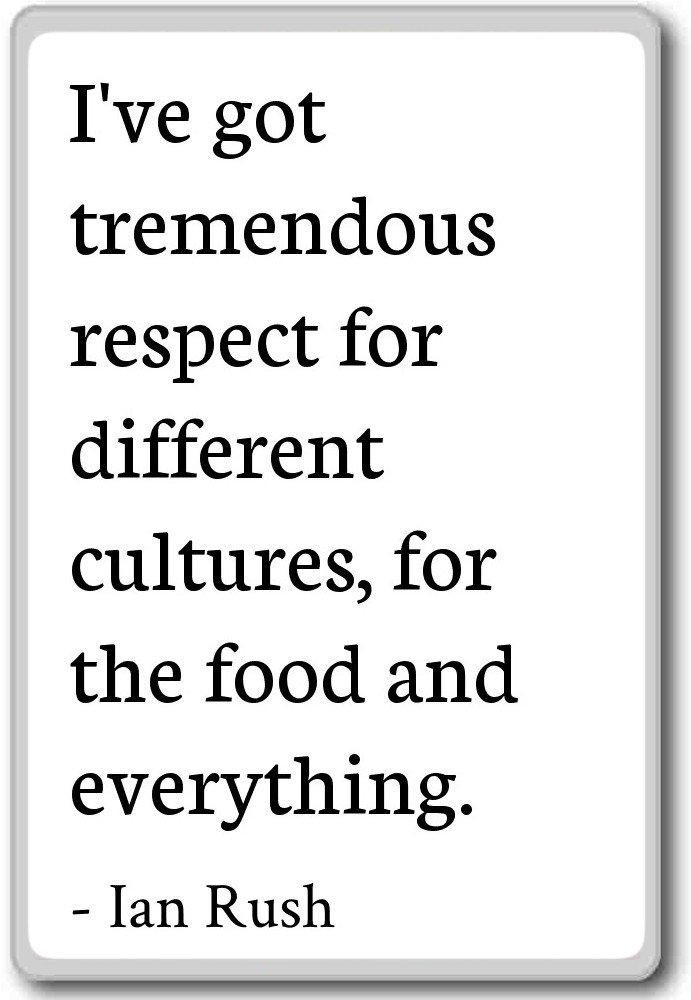 Amazon Ive Got Tremendous Respect For Different Cultures