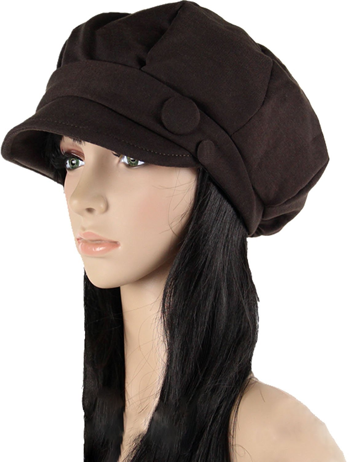 Octagonal Cap Beret Newsboy Cap Ray Limpets Winter Hat Womens' Cap Ls Lady