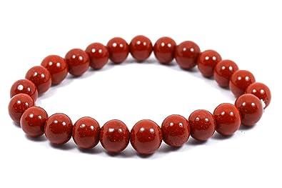 Reiki Crystal Products Natural Crystal Bracelet 8 mm Stone Bracelet for  Reiki Healing and Crystal Healing Stone Bracelet
