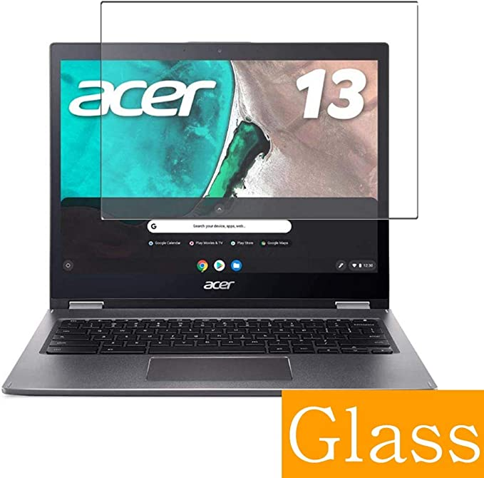 Synvy Anti Blue Light Tempered Glass Screen Protector for Dell Inspiron Chromebook 14 7486 14 Visible Area 9H Protective Screen Film Protectors