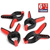 Set of 48-9-Inch Metal Spring Clamp with Red Tip