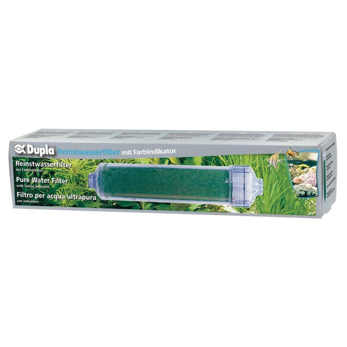 Dupla 80511 Reinstwasserfilter mit Farbindikator, Einheitsgröße Einheitsgröße
