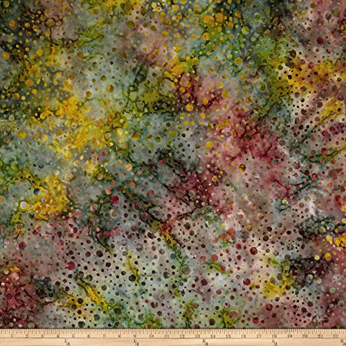 Timeless Treasures 0573330 Batik 108in Wide Back Bubbles Nutmeg Fabric by The (Batik Quilt Backing)