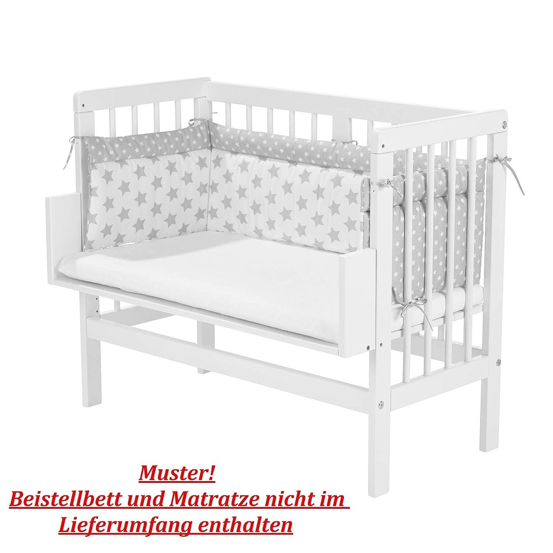 Nestchen Babybeistellbett Babywiege Babybett in 6 Farben erhältlich 180 x 30 cm