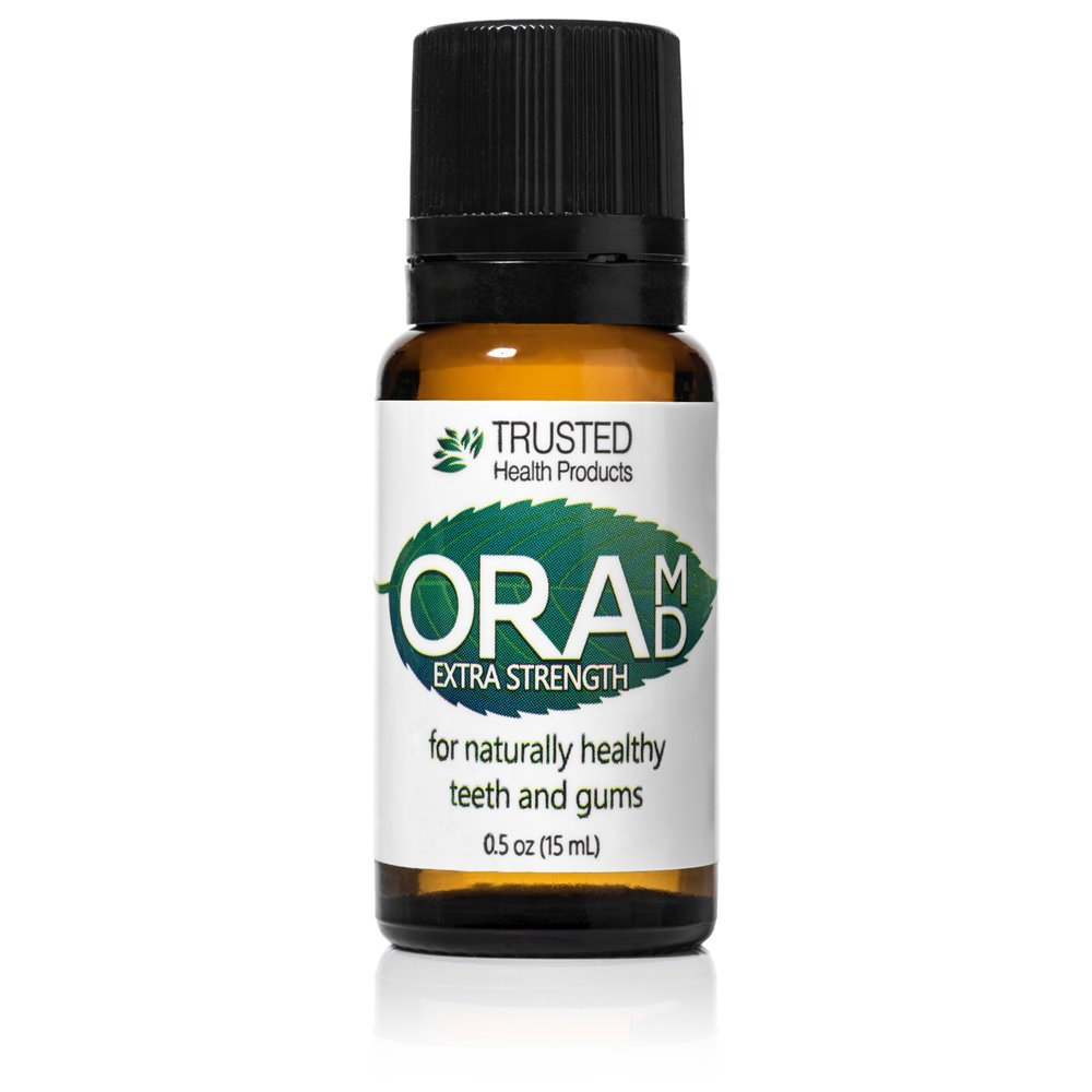 OraMD Extra Strength Single Bottle - 100% Pure, Oral Hygiene For Periodontal Disease Receding Gums Trusted Health Products No Model