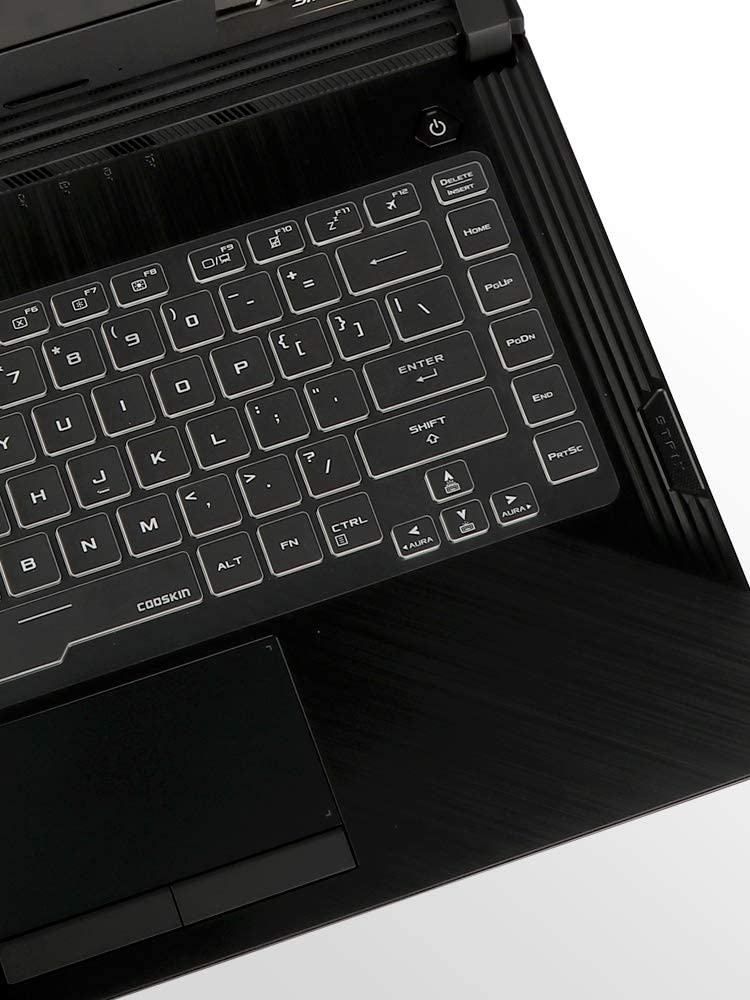Leze - Ultra Thin Keyboard Cover Compatible with 15.6'' Asus ROG Zephyrus GU502 GA502 GX502 Ultra Slim Gaming Laptop - TPU